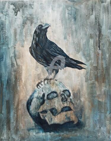 vanité et corbeau